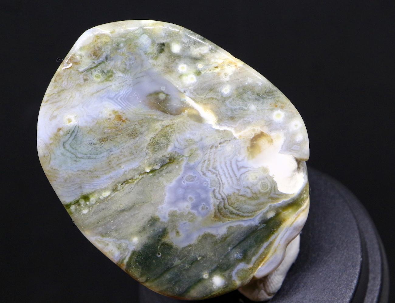オーシャンジャスパー マダガスカル産 研磨 31g OJ071 鉱物 天然石 原石 パワーストーン