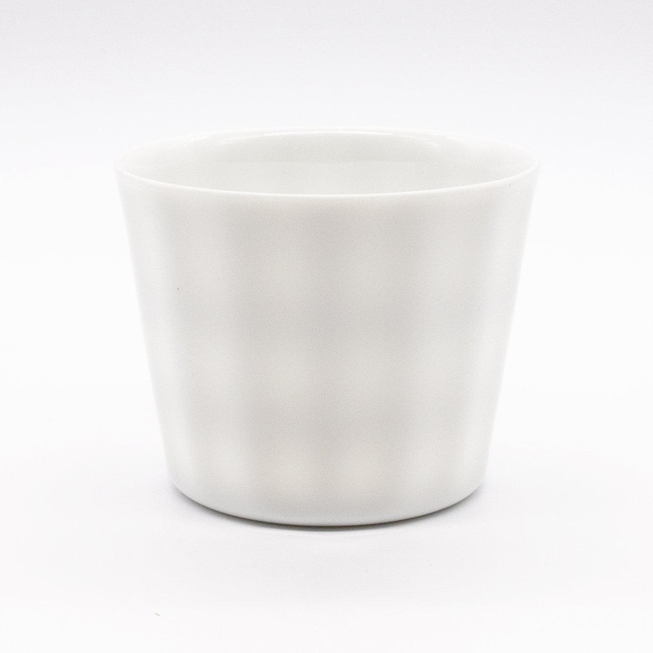 【限定1点 アウトレット品】美濃焼 frill フリーカップ 白 254209 豆豆市168