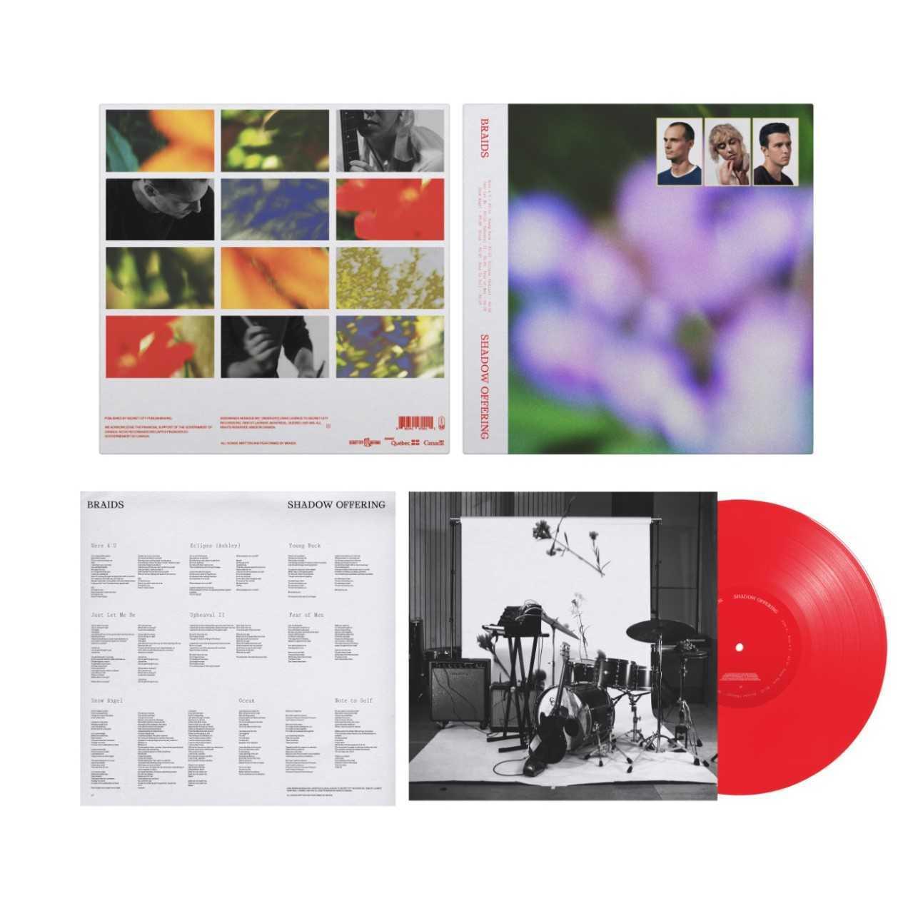 Braids / Shadow Offering(Ltd Deluxe Red LP)