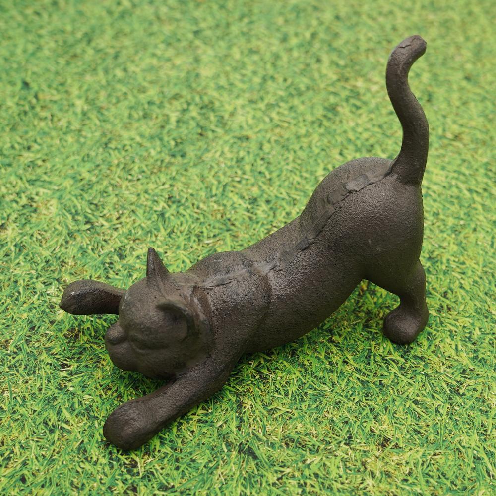 猫ドアストッパー(鉄猫)