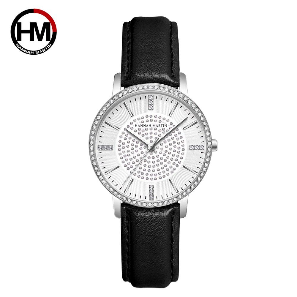 女性用時計フルダイヤモンド日本製クォーツラインストーン腕時計高級女性用ドレス時計RelogioFeminino Drop Shipping1074PH2