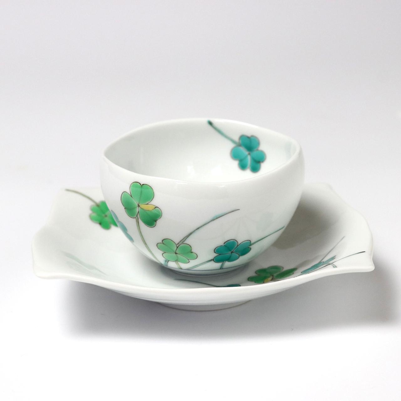 小煎茶セット クローバー