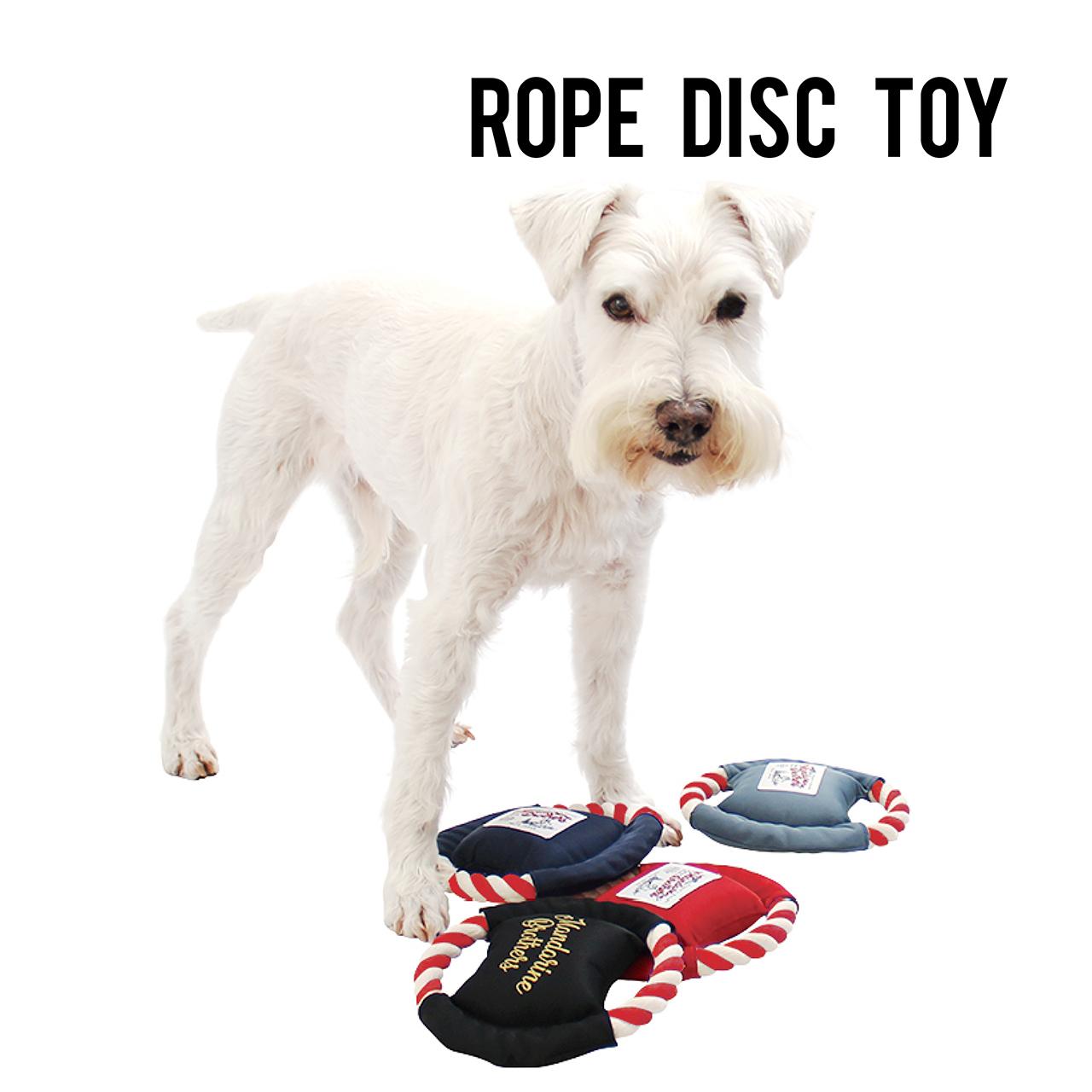 ROPE DISC TOY ロープディスクトイ