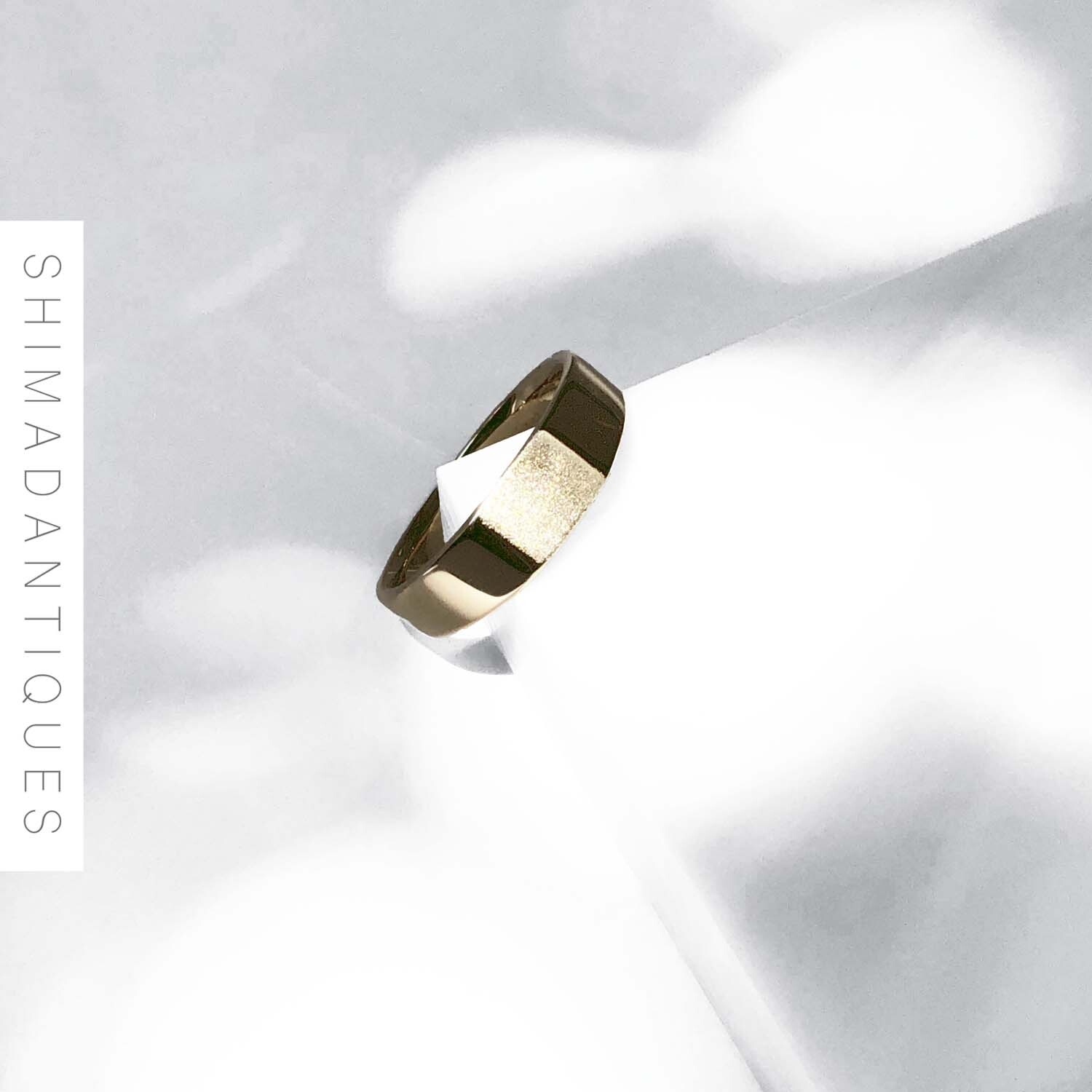 Signet Ring Ⅱ・Medium/GOLD