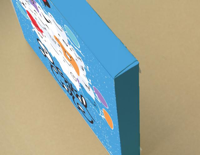 Illustration キャンバスプリント(B3サイズ・木製パネル貼り)