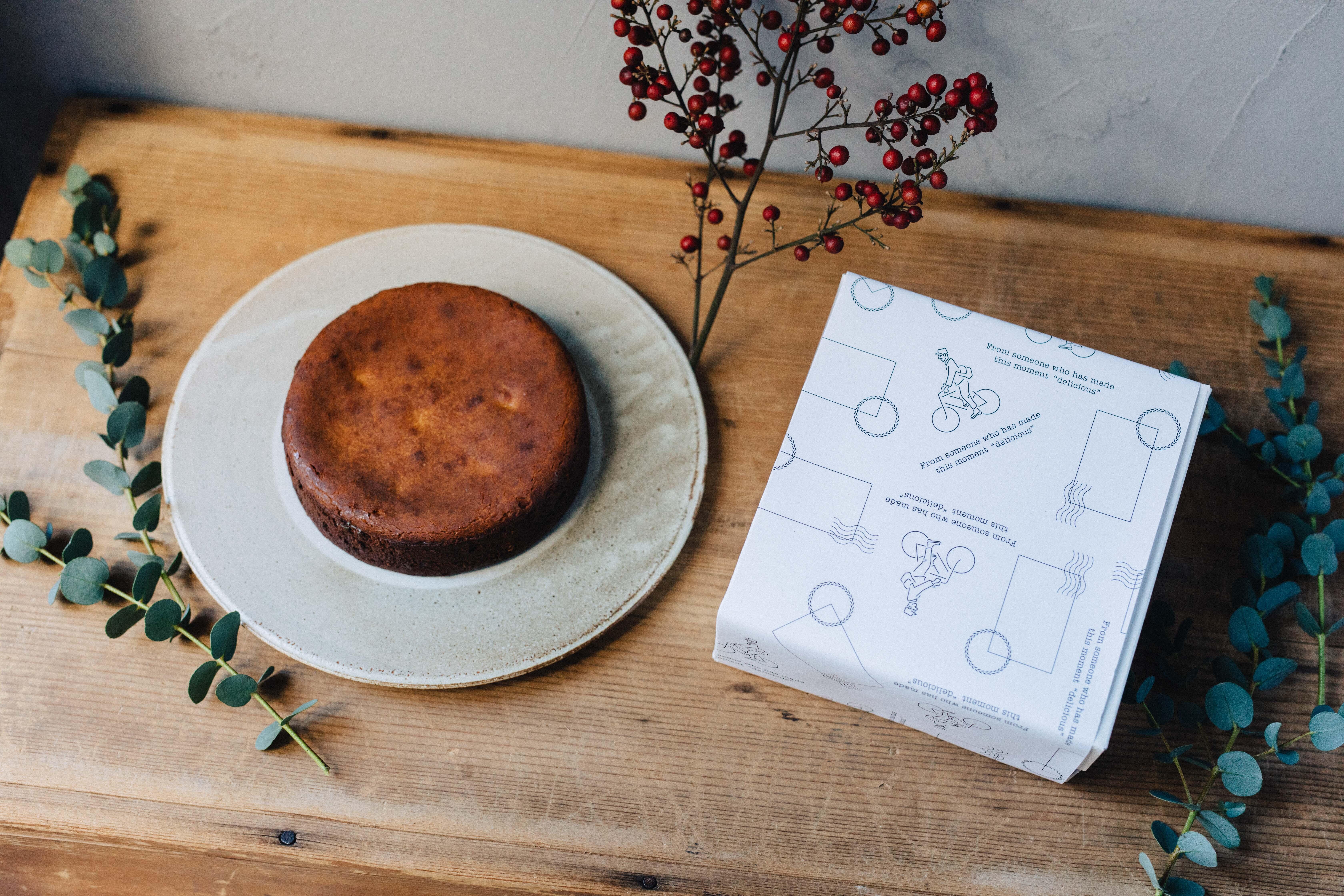 ラム漬け無花果のチーズケーキ 12cmホール