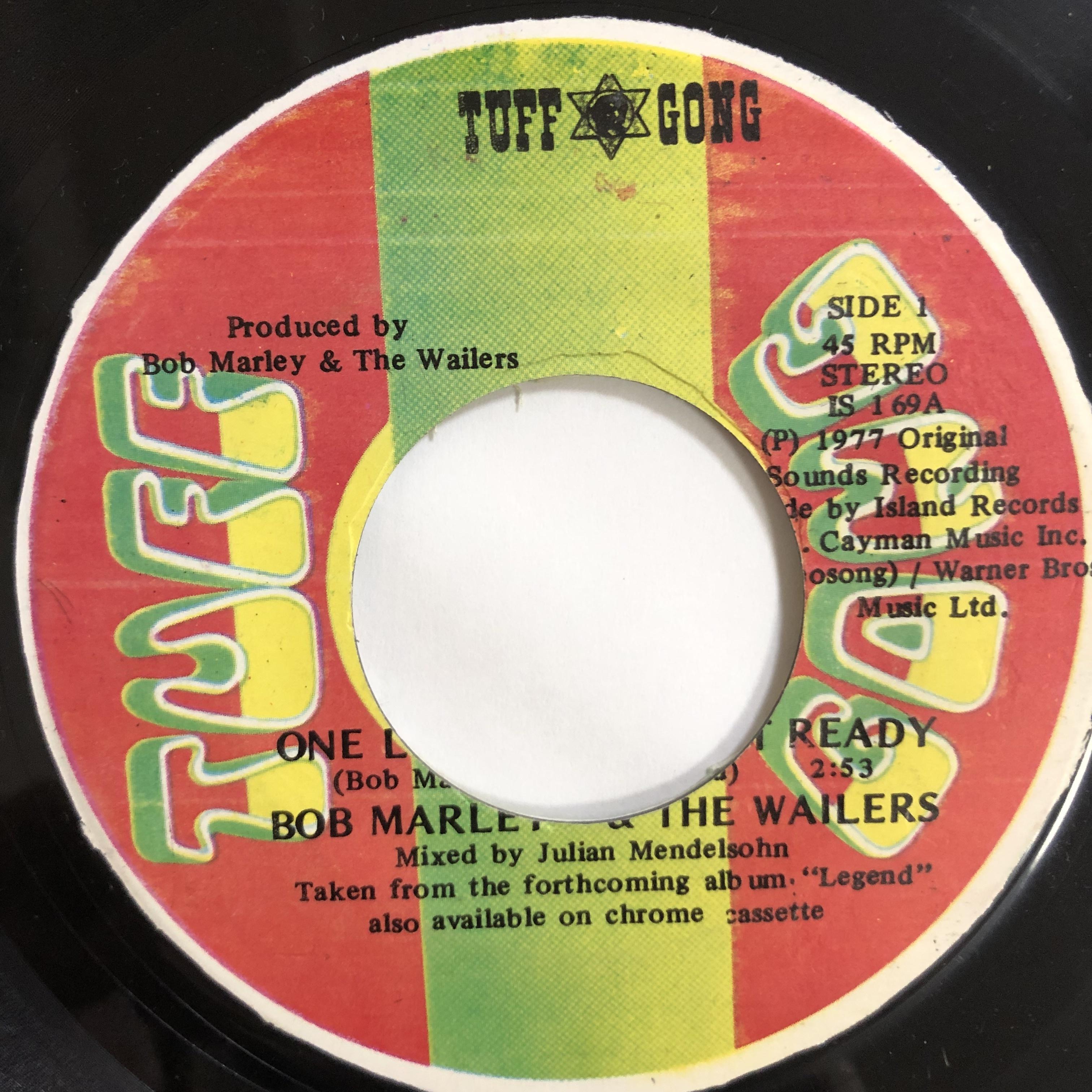 Bob Marley (ボブ・マーリー) & The Wailers (ウェイラーズ) - One Love【7-20205】