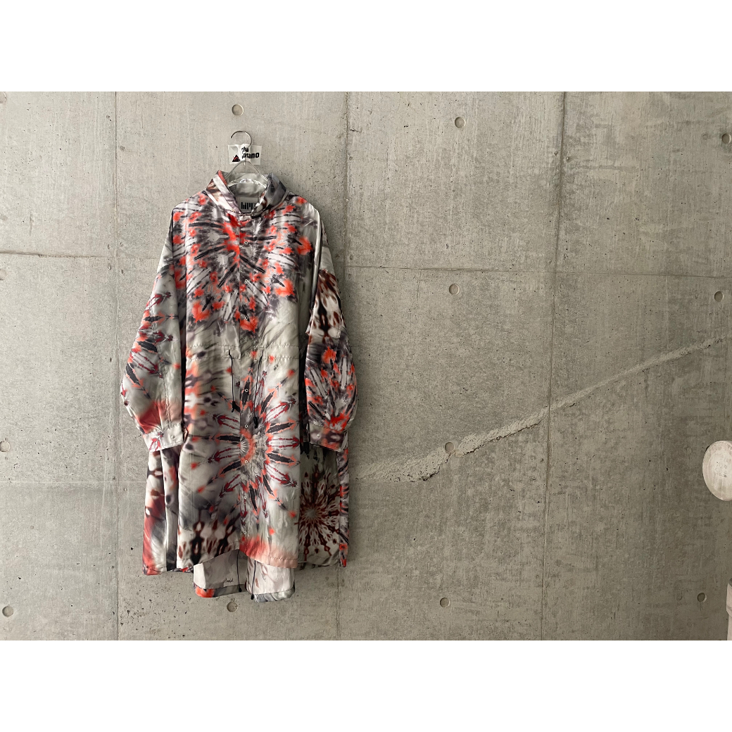 【hippiness】palette camouflage coat(Charcoal embers)/ 【ヒッピネス】パレットカモフラージュコート(チャコール エンバーズ)