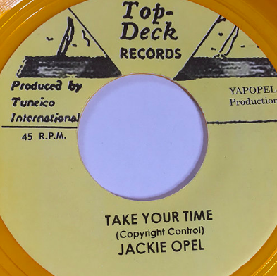 Jackie Opel(ジャッキーオペル)-Take Your Time【7'】