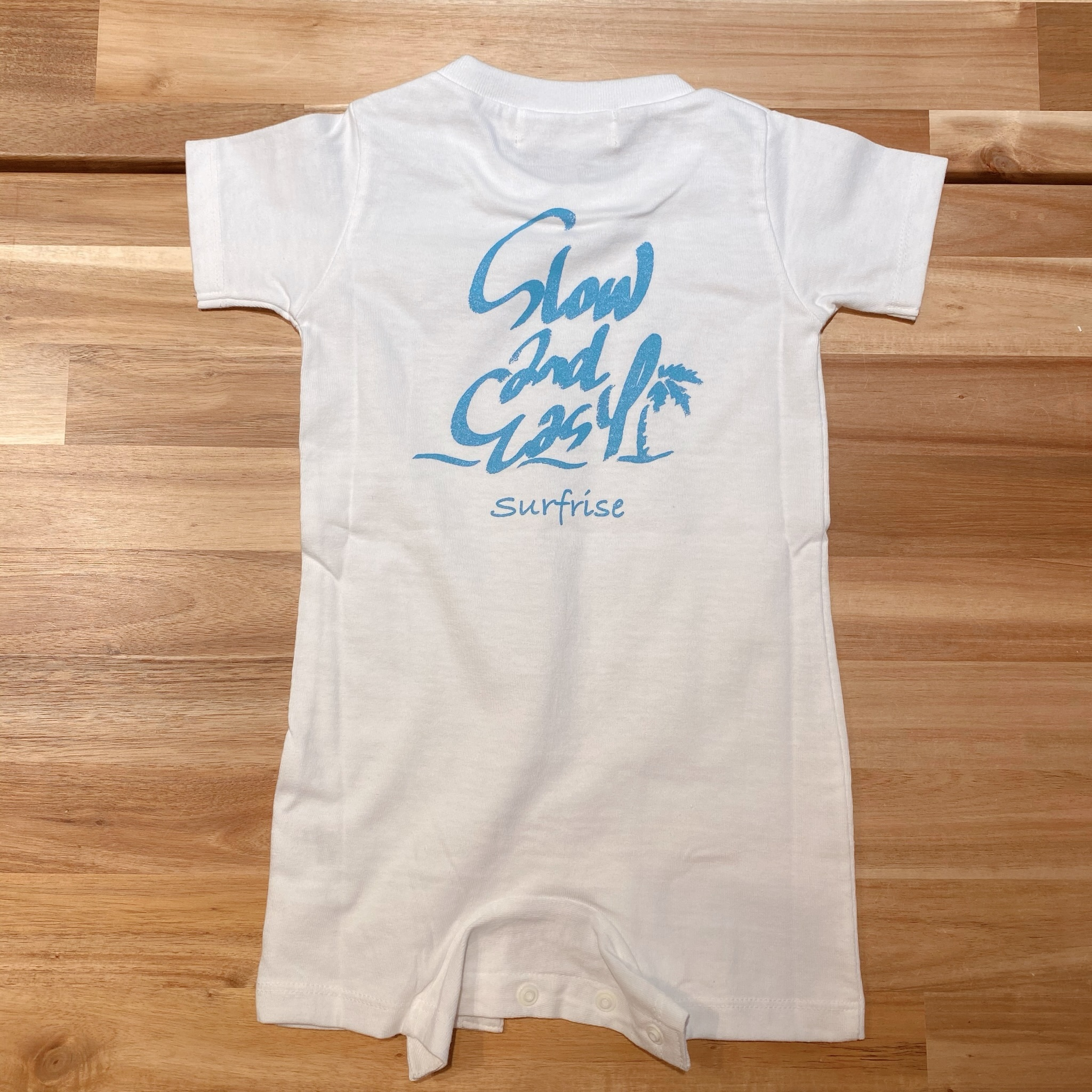 ★Baby★ Slow&Easy Rompers - White