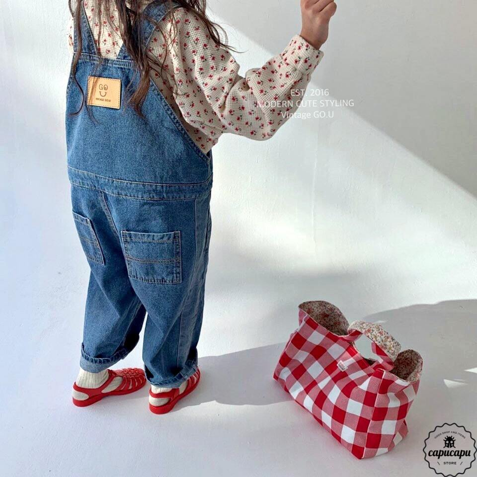 «sold out» go.u denim overall デニムオーバーオール