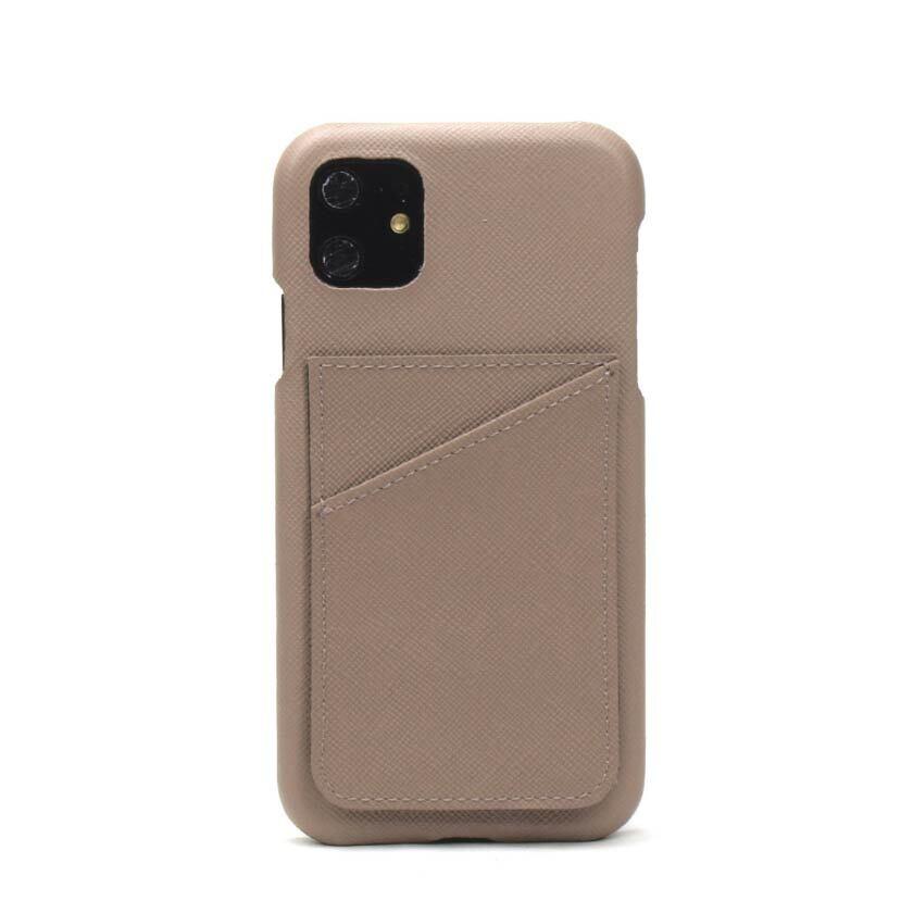 背面カード【グレージュ】 iPhone / Galaxy / Xperia /  Googlepixel / Huawei