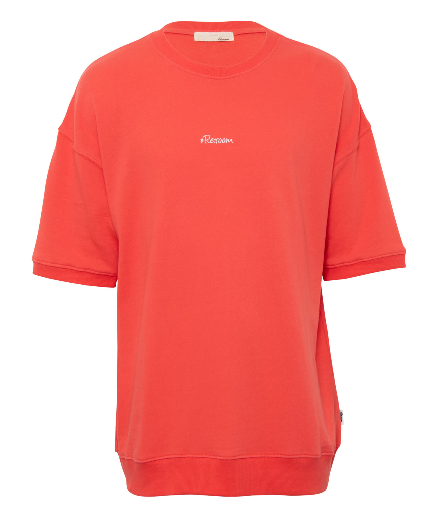 SMALL LOGO SHORT SLEEVE COLOR SWEAT[REC410]