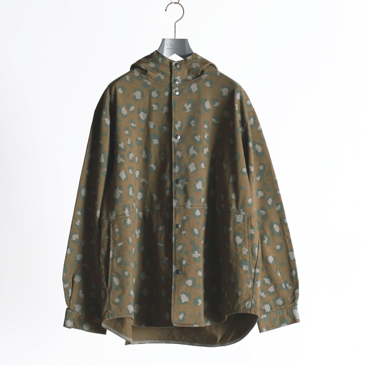 "CURLY&Co./DELIGHT HOOD SHIRCKET ""Speckle Camo"" with RAIN DELIGHT"