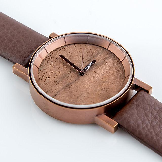 森の腕時計(Copper Wood)