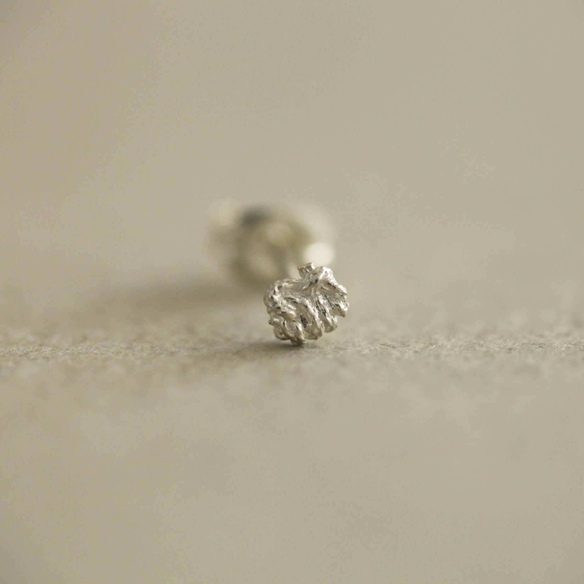 ciito (しいと) yui pierce Sサイズ (ピアス) シルバー※片耳販売