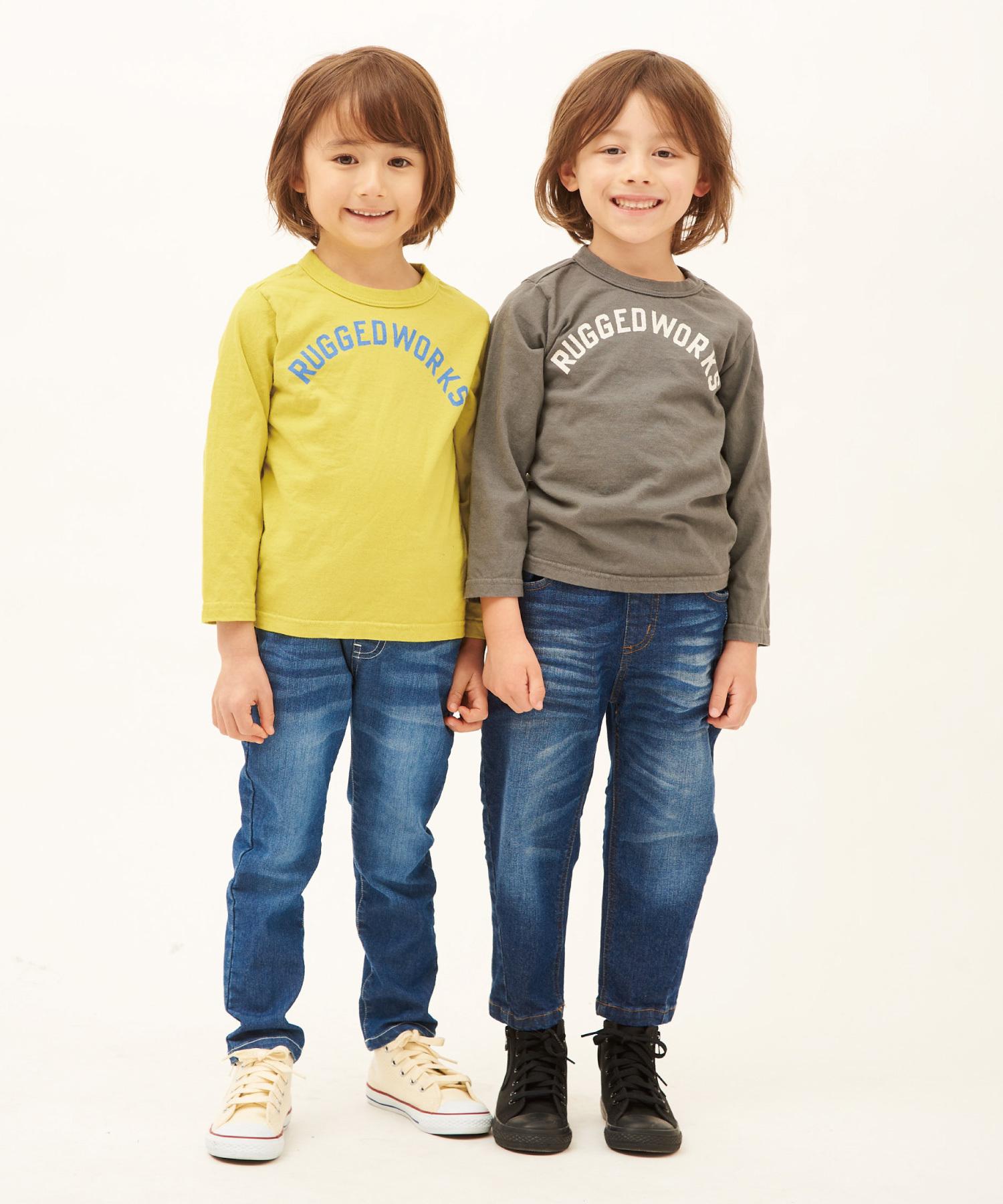 RUGGEDロゴロングTシャツ(日本製)
