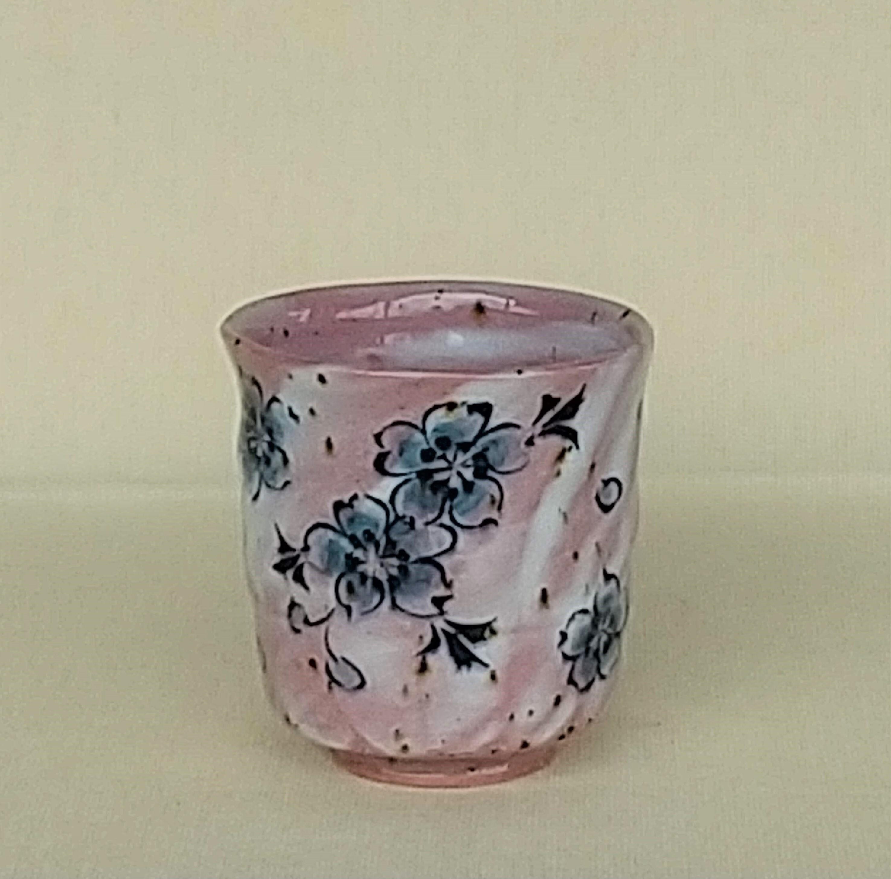 桜窯 桜染 ピンク 湯呑