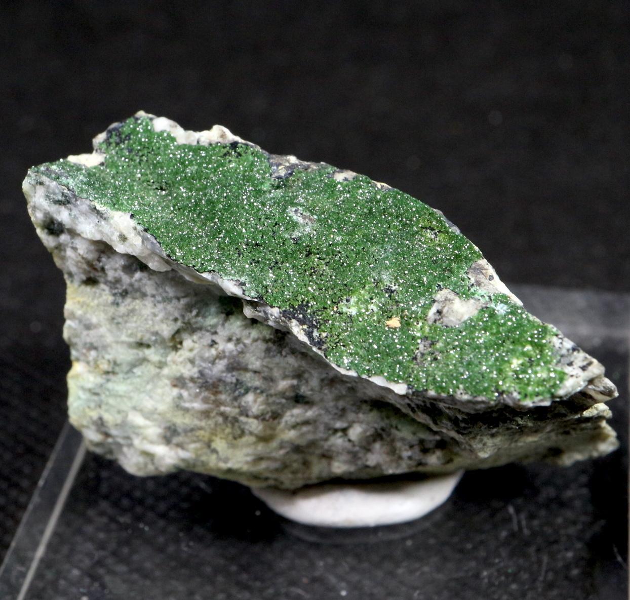 ネバタ州産 燐銅鉱   Libethenite 32,7g LBN005 原石 天然石 鉱物 パワーストーン
