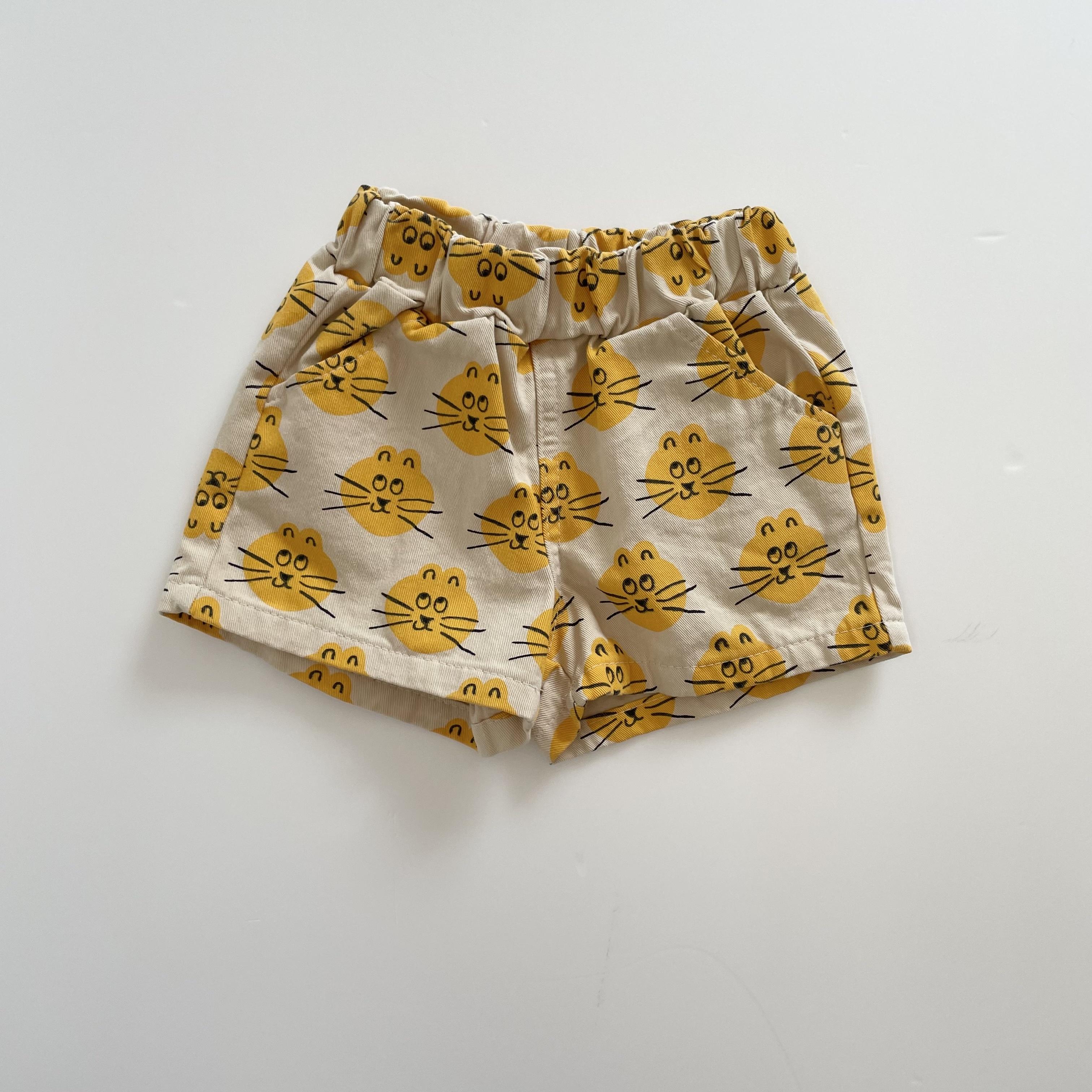 NO.1407.Safari half pants / OOTT bebe