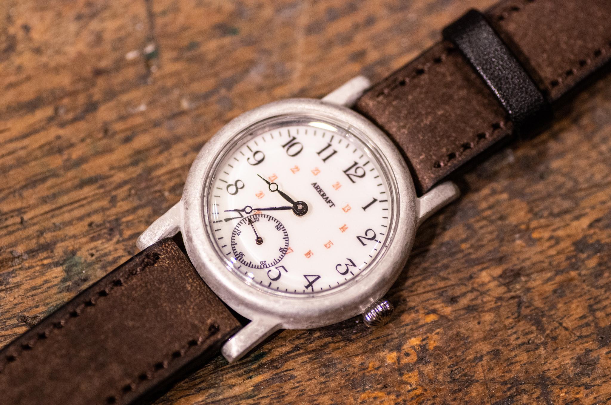 ヴィンテージ感のある雰囲気の良い腕時計(Vines SS/店頭在庫品)