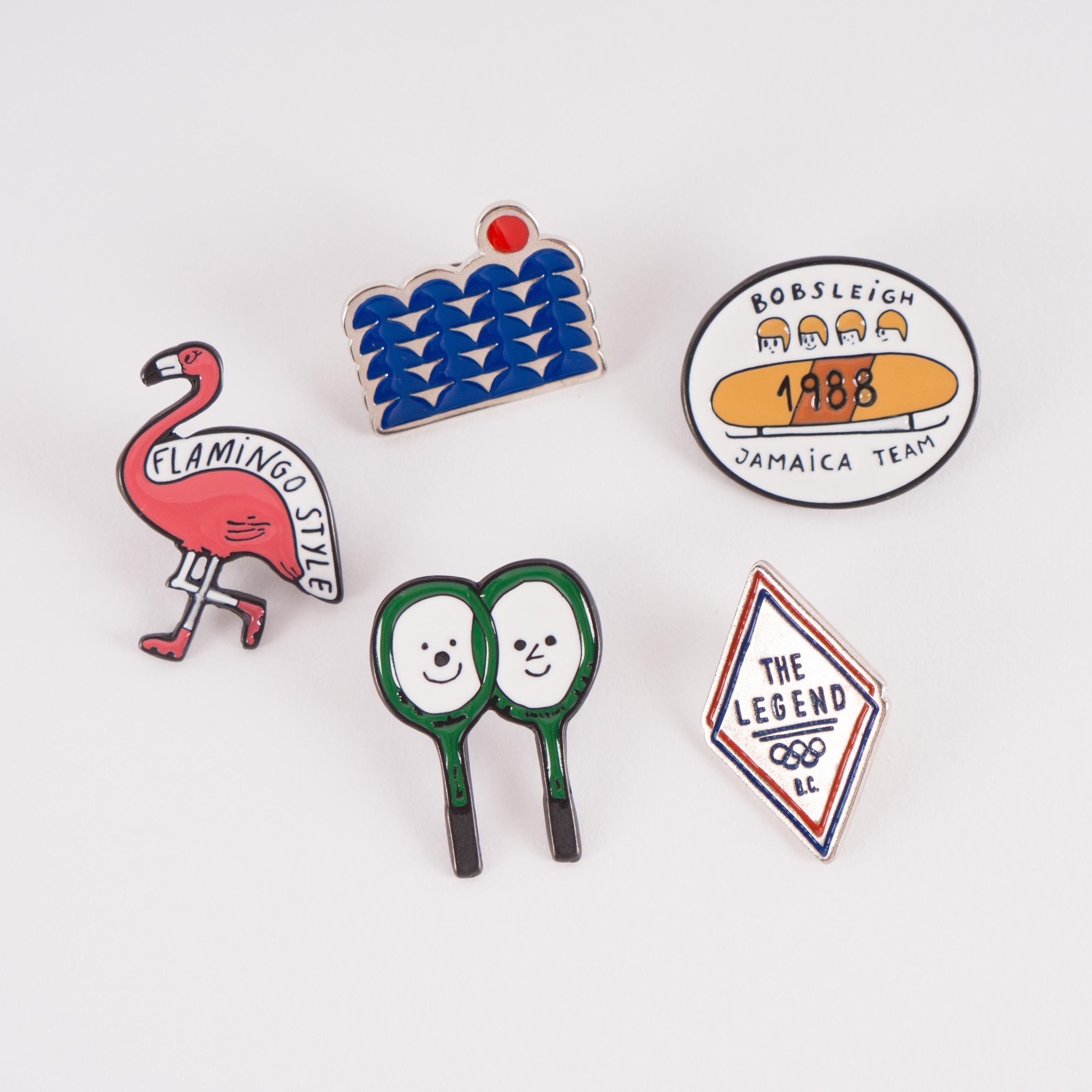 《BOBO CHOSES 2017SS》pack of 5 pins