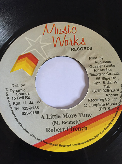Robert French(ロバートフレンチ) - A little more time 【7'】
