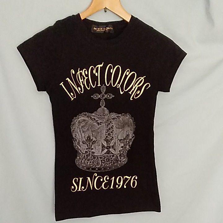 infect color's クラウンTシャツ 中古 XSサイズ