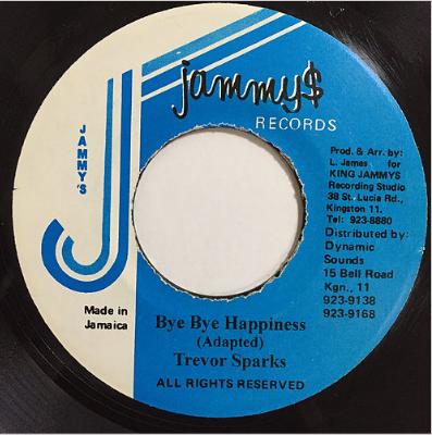Trevor Sparks(トレバースパークス) - Bye Bye Happiness【7'】