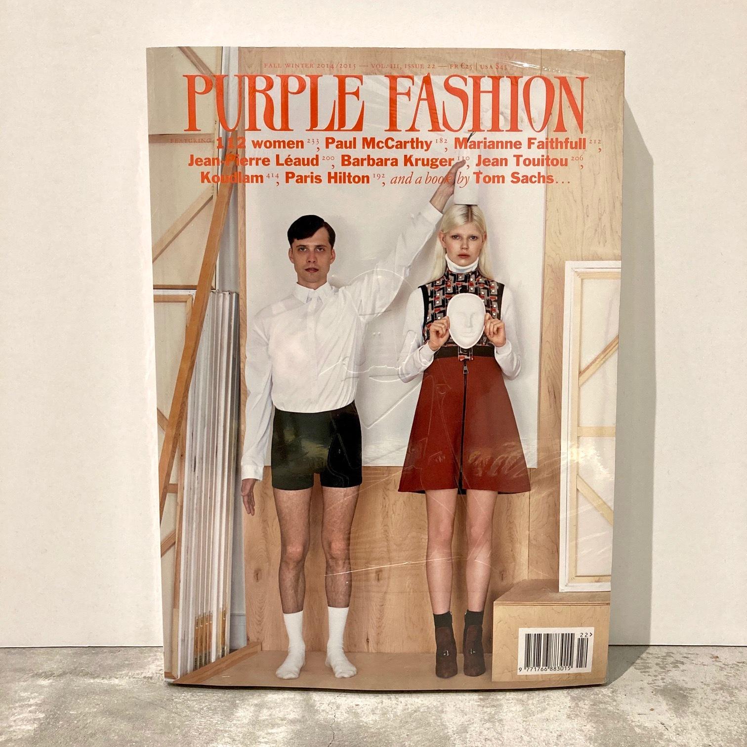 BOOK / PURPLE FASHION  magazine F/W 2014/2015 Issue 22