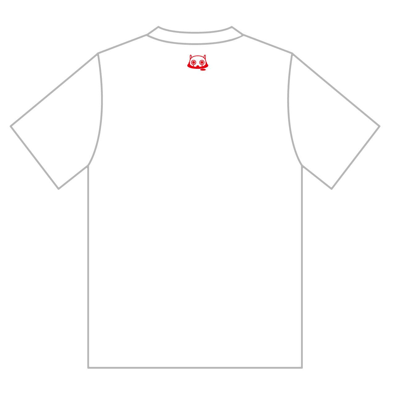 ピノキオピーベストアルバム寿リリースパーティ「ありがとう」Tシャツ+ステッカーセット - 画像2