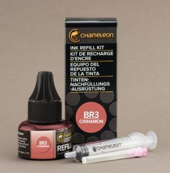 Chameleon Pen Ink Refill 25ml Cinnamon BR3 (カメレオンペン 詰替え用インク BR3)