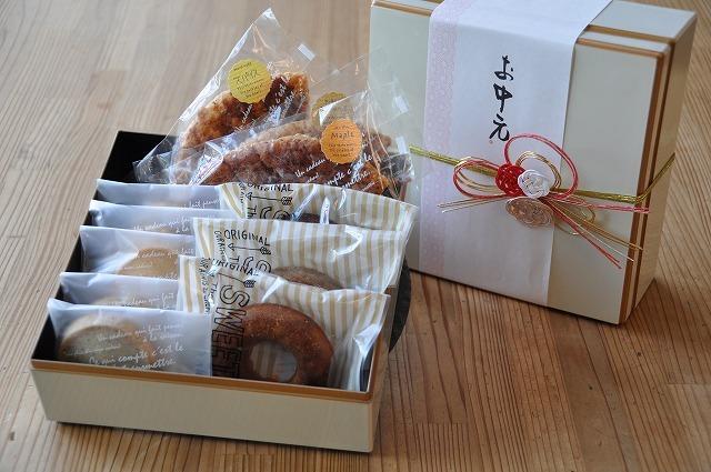 焼き菓子ギフト お重箱