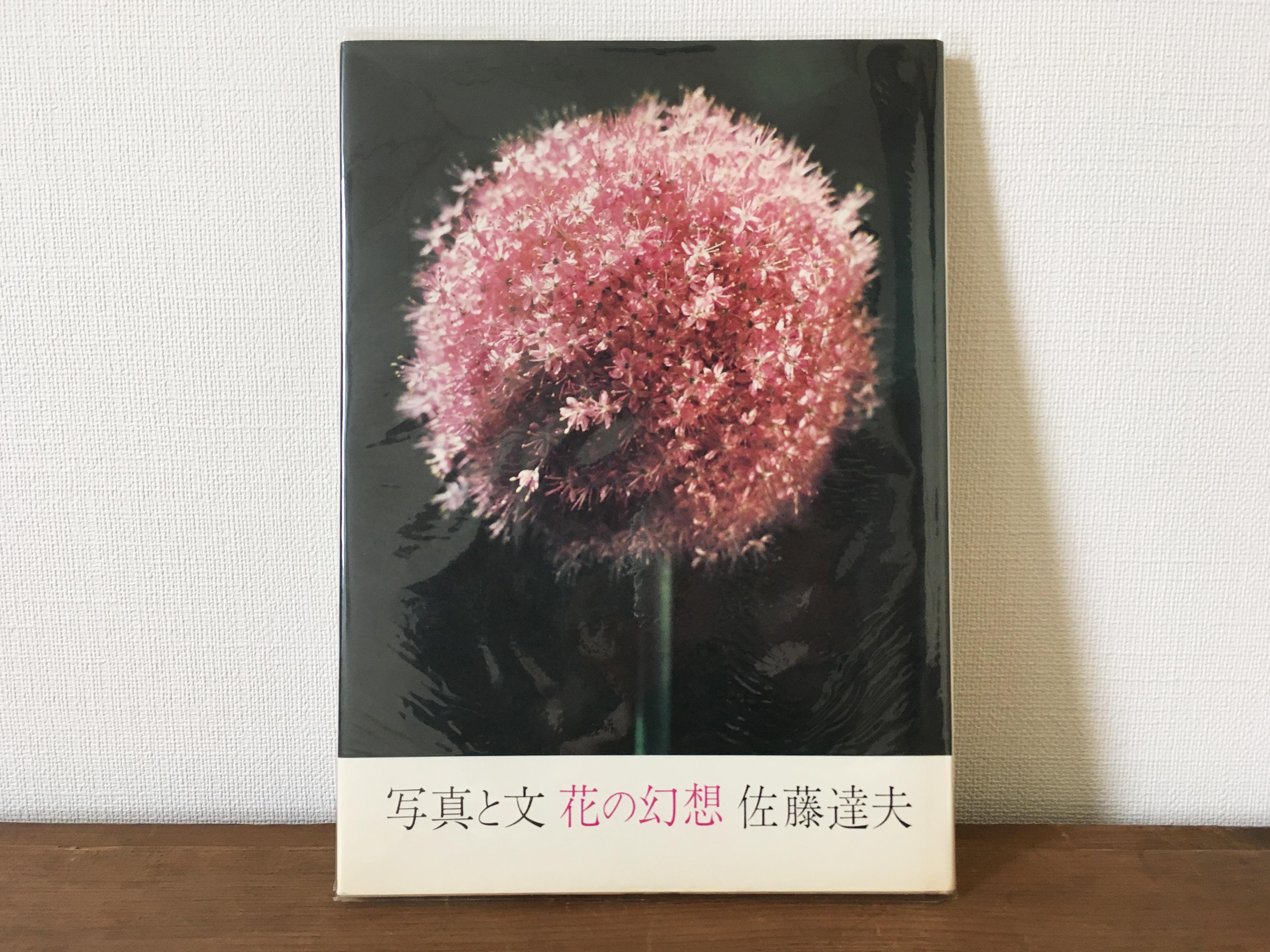[古本]写真と文 花の幻想 / 佐藤達夫