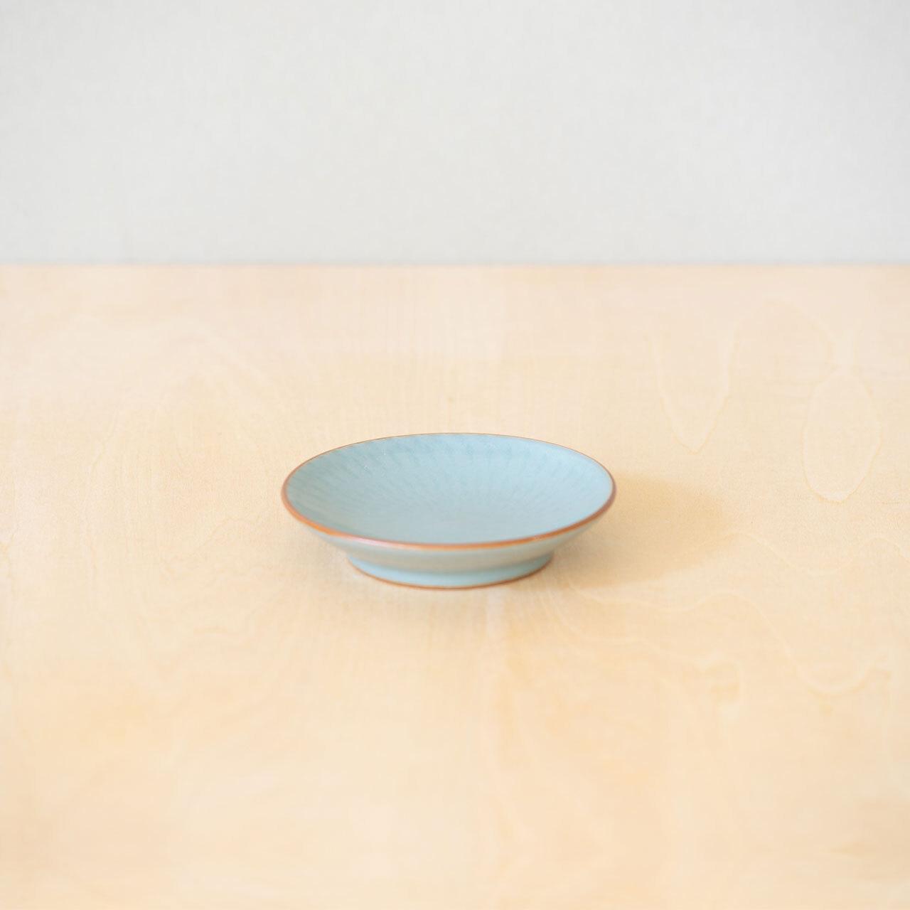 青磁飛鉋 豆皿【予約販売】