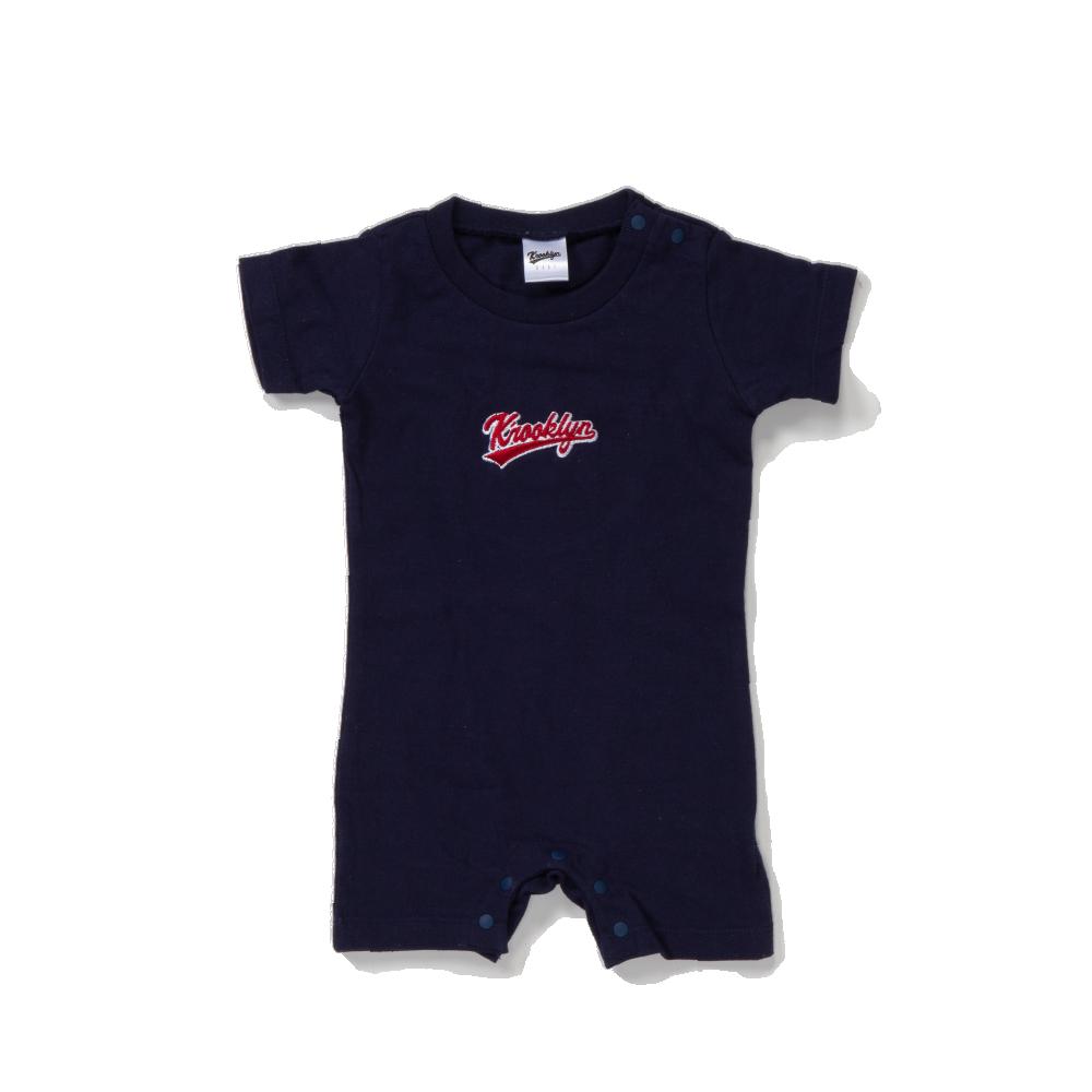 K'rooklyn Logo Baby Rompers - Navy (80cm)
