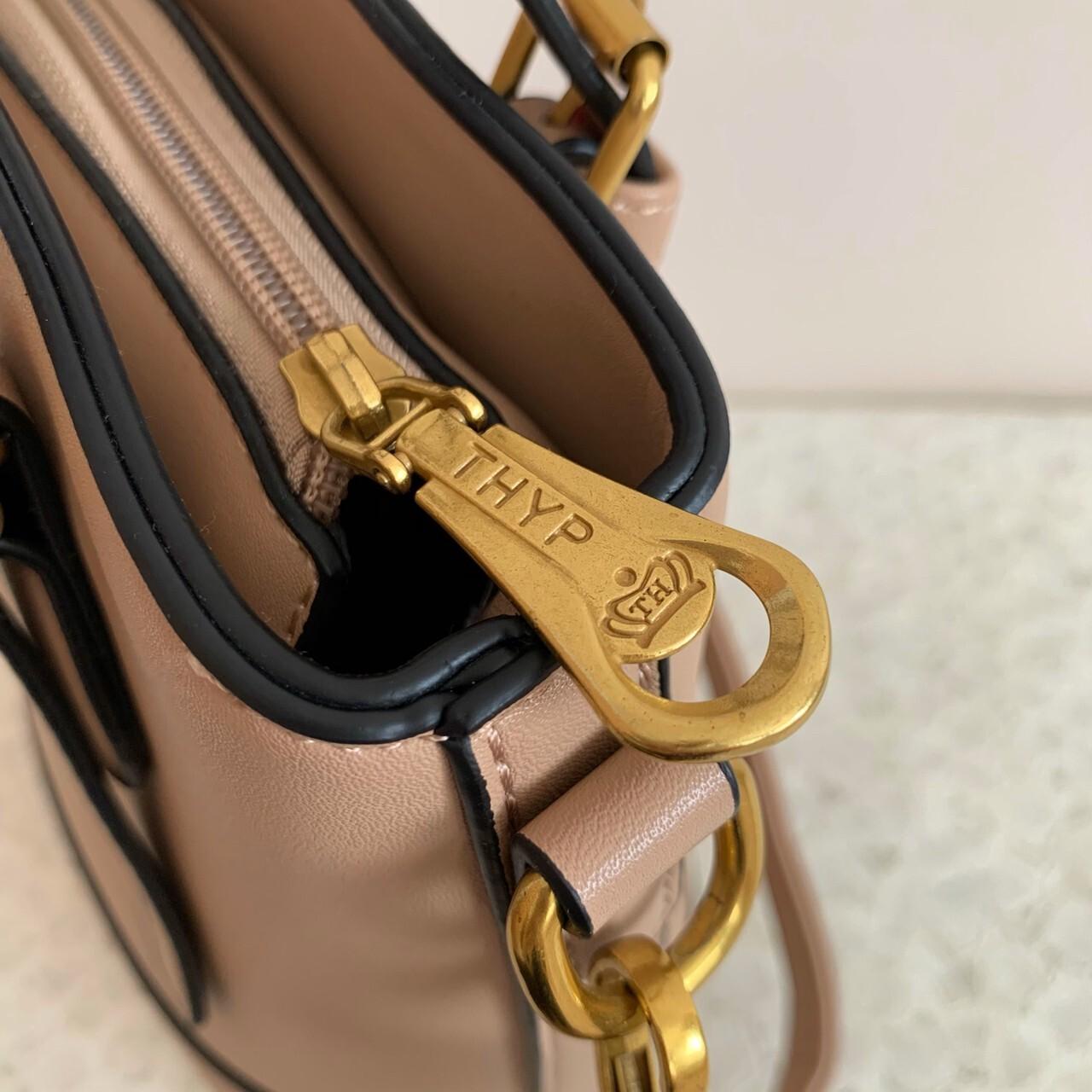 【meltie】bi-color belt bag
