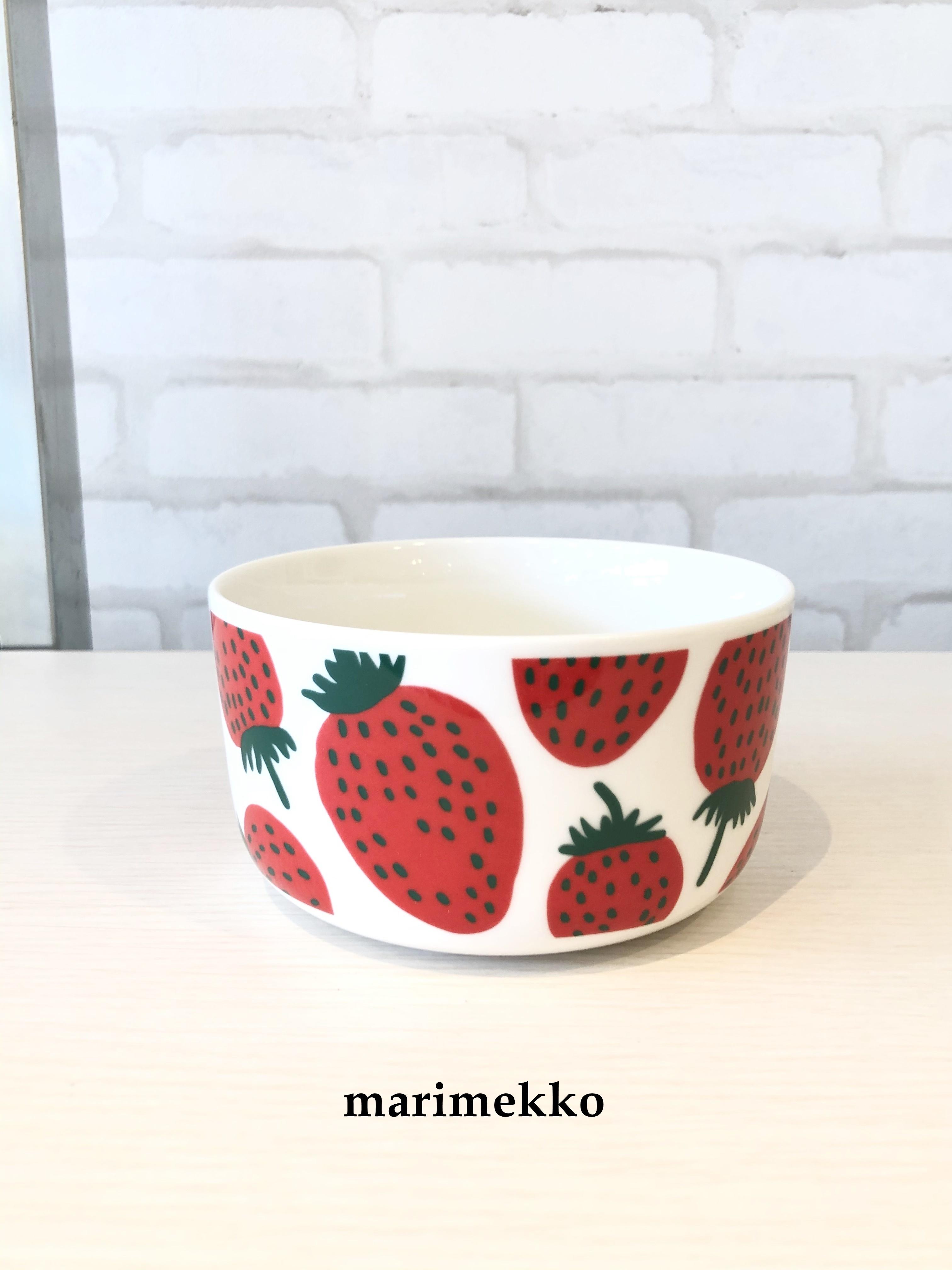 marimekko (マリメッコ)/ ボウル5DL/mansikka(マンシッカ苺)/70483