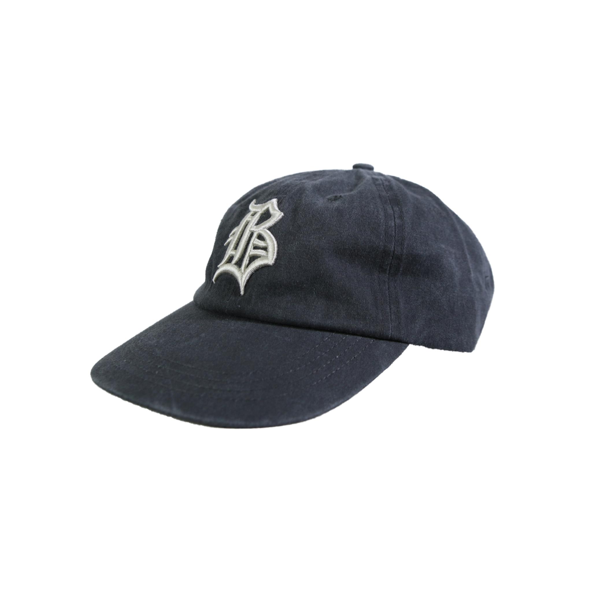"""OL""""D""""-B- PIGMENT DYE CAP [BLACK x PALE GOLD]"""