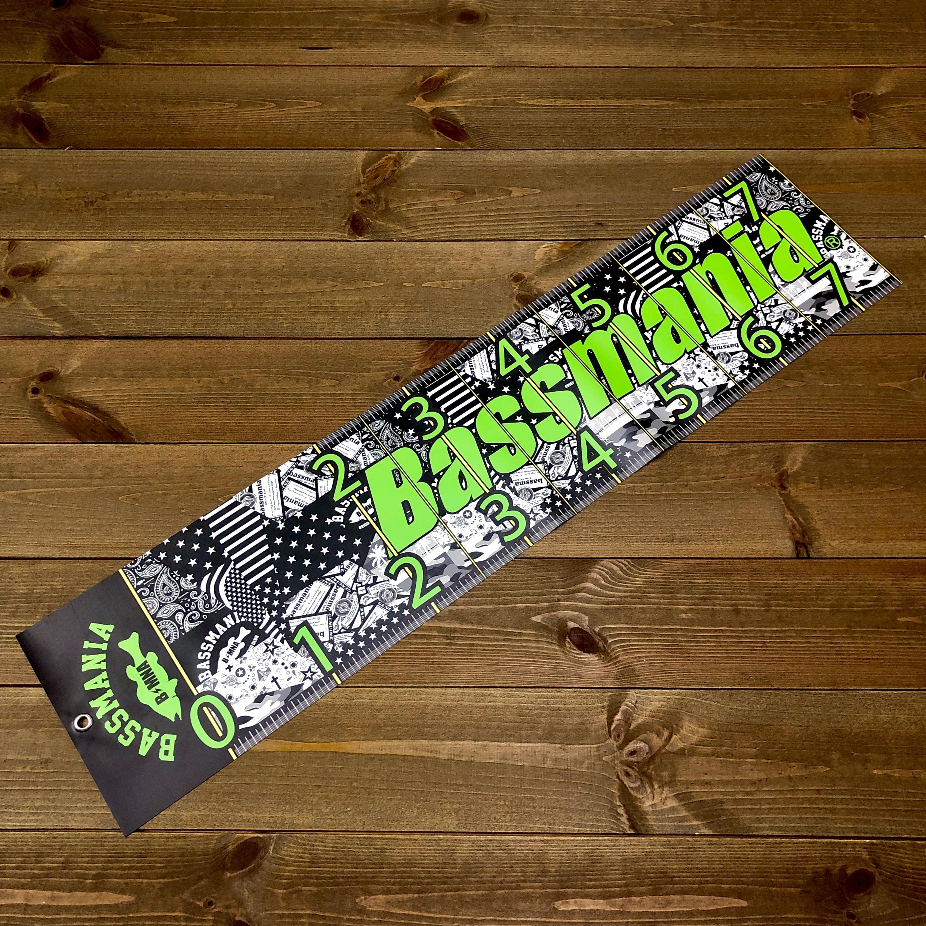 bassmania original design LUNKER SCALE 【限定生産】