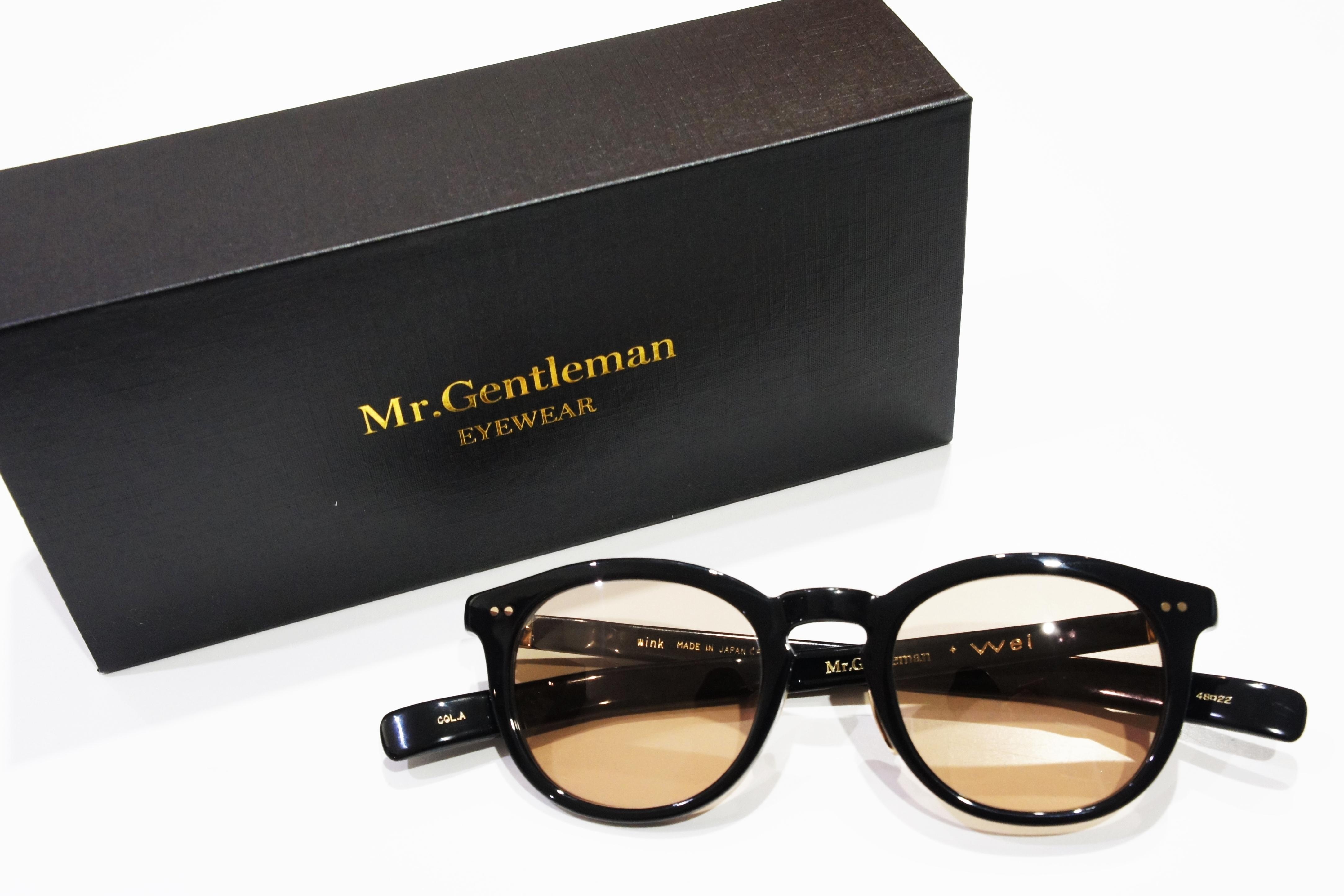 【山下智久さん着用】Mr.Gentleman(ミスタージェントルマン) wink COL.A Weiコラボモデル