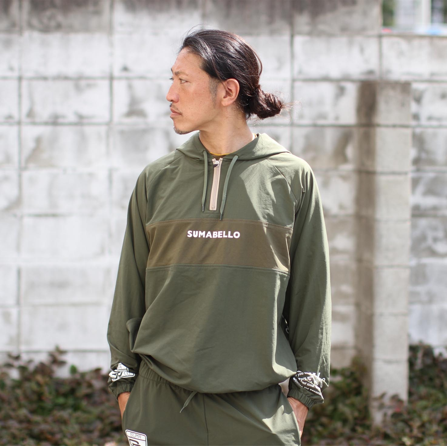 WINDSHELL HOODED PULLOVER (全3カラー)