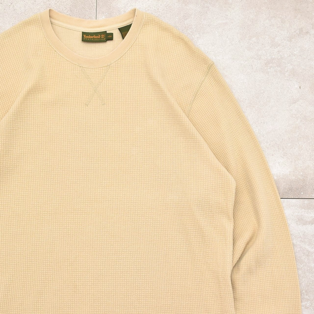 90〜00's Timberland WG thermal LS T-shirt