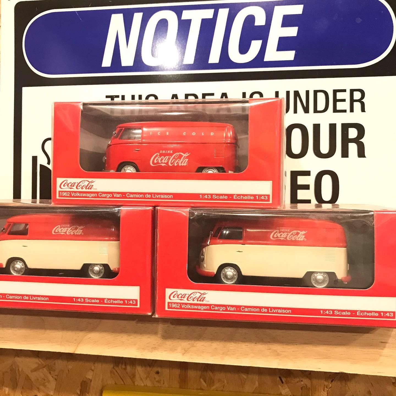 1:43 Coca-Cola VW Cargo Van Red