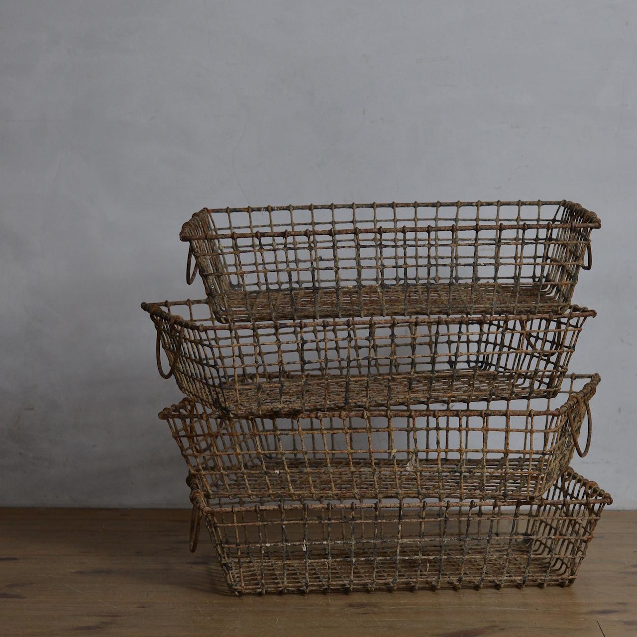 Oyster Basket / オイスター バスケット 〈カゴ・籠・収納〉1806-0033