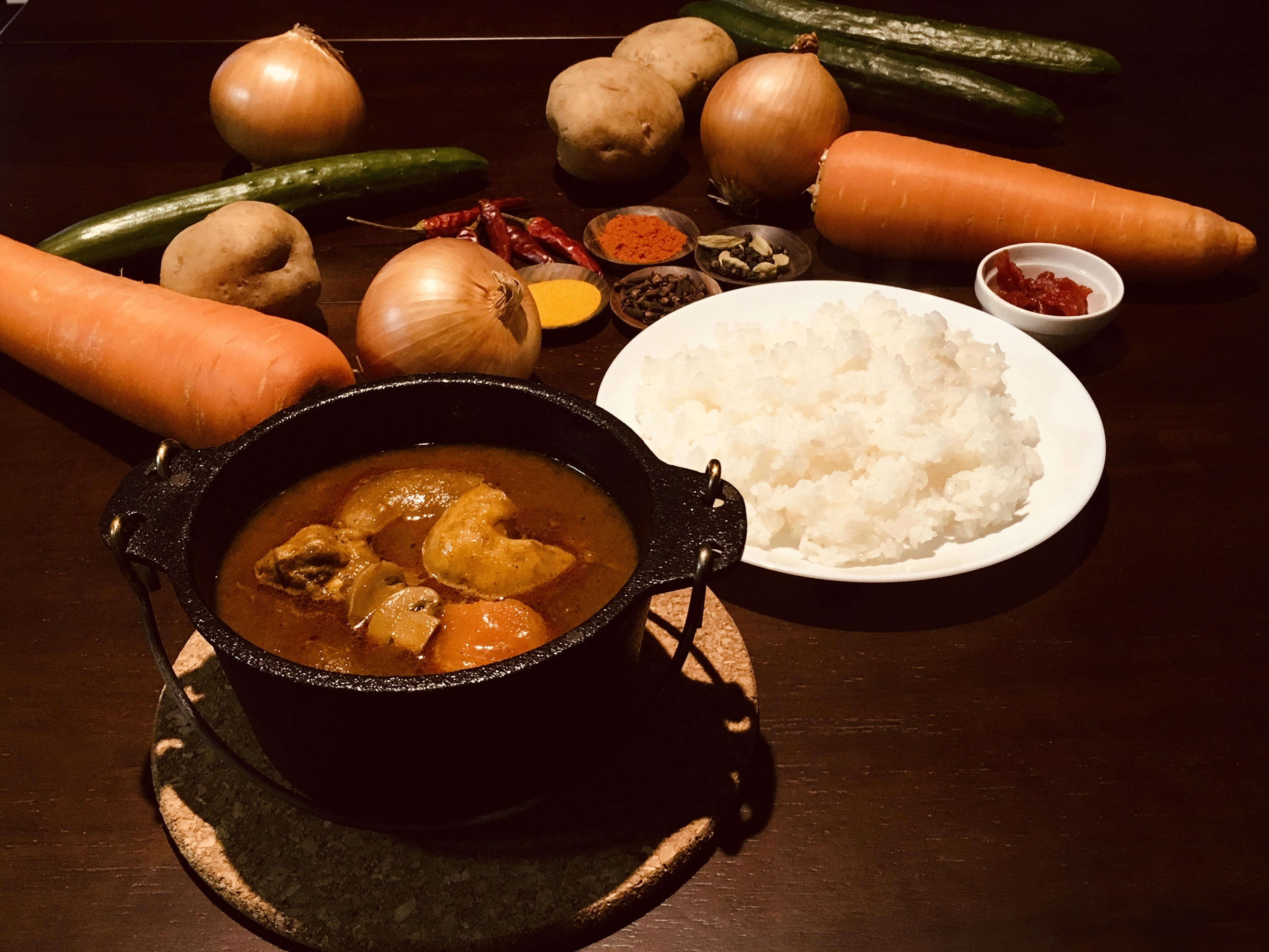 ◆チキンカレー【辛口】◆ 1食パック x 1個
