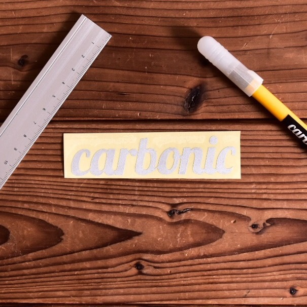 carbonic cutting sticker Reflection (M)