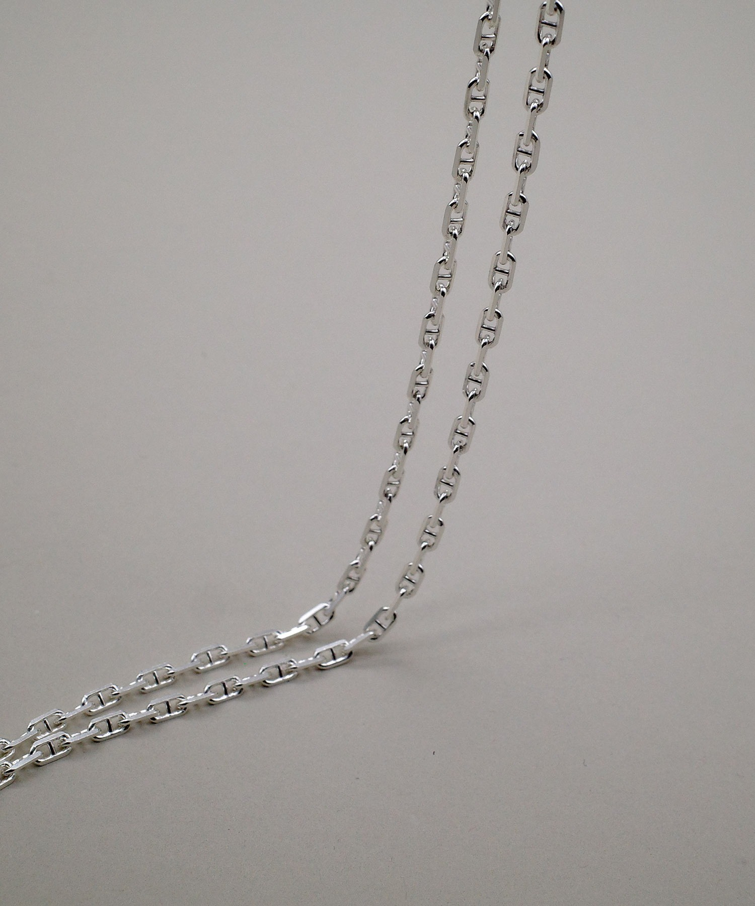 【ISOLATION / アイソレーション】Silver925 Anchor Chain Necklace