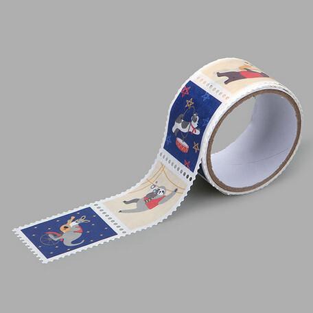 マスキングテープ Animal musicians 15mm×10m
