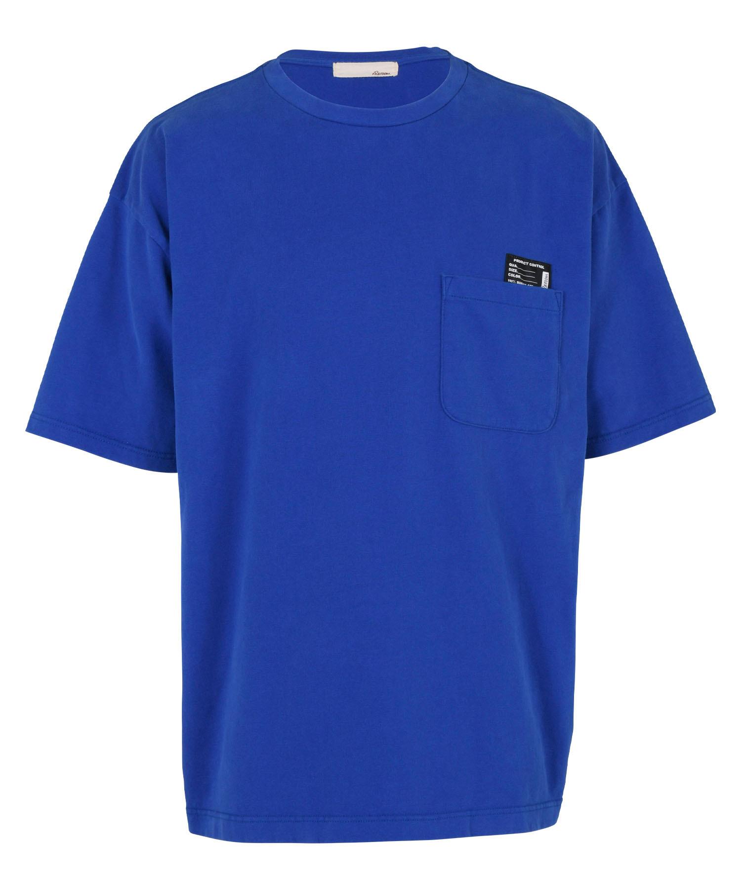 HEAVYWEIGHT COLOR POCKET BIG T-shirt[REC519]